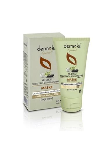 Dermokil Special Cilt Lekelerine Karşı Etkili Formül Yağlı Ciltler ıçin Maske 50 Ml Renksiz